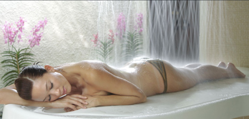 massaging shower enjoy