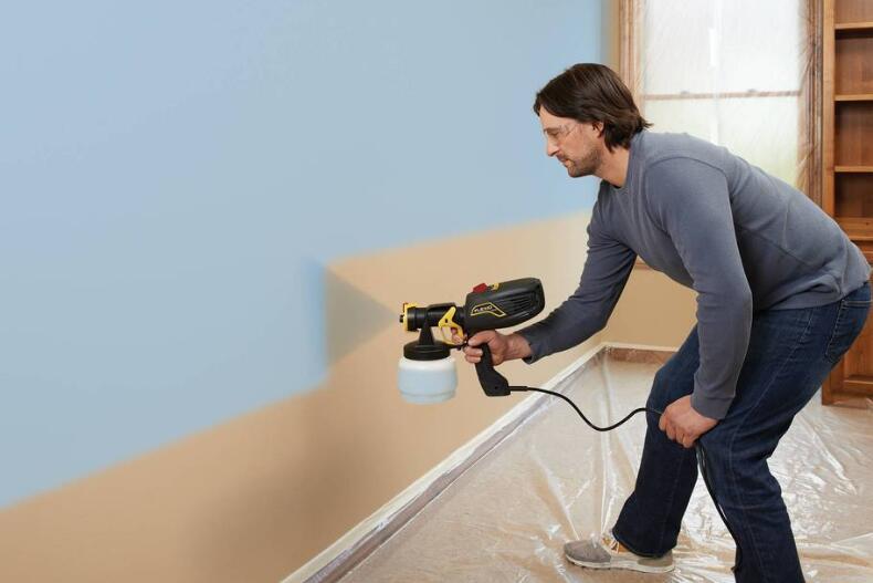 interior wall airless paint sprayer maintenance